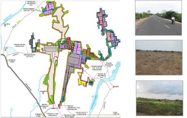 Detailed Master Plan for Multi-Product SEZ and FTWZ in Layja Mota, Gujarat