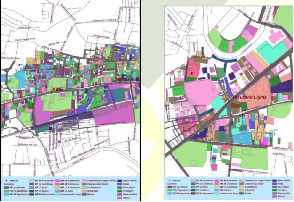 Study on Densification along Chennai Metro Rail Corridors
